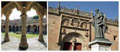Cour des Ecoles et Cloître - Salamanque (Espagne)