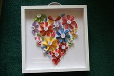 Beautiful heart, inspired by pinterest, created for my over the top kind Physical Therapist.