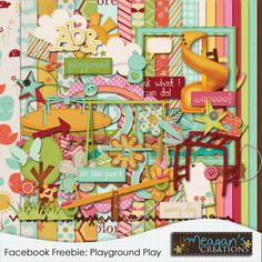 Free Scrapbook Kit! Playground kit by Meagan's Creations