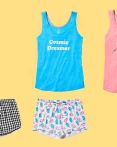 ZZZs without the $$$. Our mix & match PJ pieces are just $6 each 😴 Sleepwear & Loungewear, Mix Match, Pj, Lounge Wear, Gym Shorts Womens, Spring, Swimwear, Clothes, Ideas