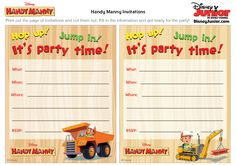 1 of 2--- http://family.disney.com/crafts/handy-manny-party-invitations