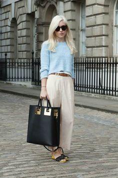 London Fashion Week Street Style Spring 2015