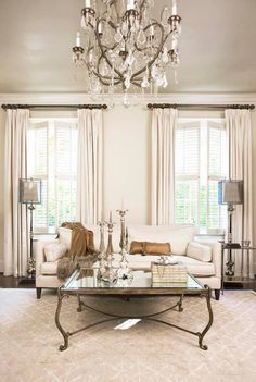 French-Inspired Family Home - Home Bunch - An Interior Design Luxury Homes Blog | Sherwin Williams Soft Tan | Ceiling and Trim in Eggshell