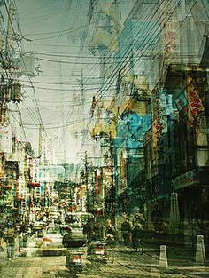 Experimental #cityscape #photography by Stephanie Jung.