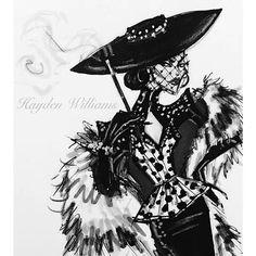 Cruella De Vil by Hayden Williams