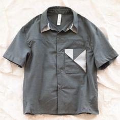 folded pocket shirt by trommpo
