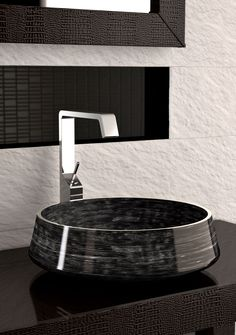 Glass Design bowls and basins are made in Tuscany, a few short miles away from the birthplace of Leonardo da Vinci #bathrooms #bathroomideas #basins http://www.cphart.co.uk/view-our-brochures/
