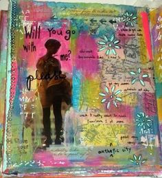 Step by Step (Almost) Journal Page  from Kelly Kilmer Artist and Instructor