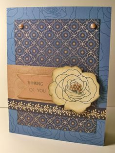 Thinking of You CTMH Pemberley card by Wendy Kessler