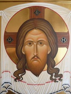 Whispers of an Immortalist: Icons of Jesus Christ 8 The Holy Mandylion Byzantine Art, Cool Art Drawings, Orthodox Icons, Sacred Art, Kirchen, Holy Spirit, Alice In Wonderland, Jesus Christ, Christianity