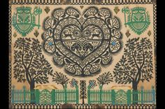 Hans-Jakob Hauswirth, Les portails verts, 1850. Another example of patterns for me to potentially be inspired by in my ideas and designs.