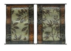 Botanical Beginnings Metal Wall Art Set of 2