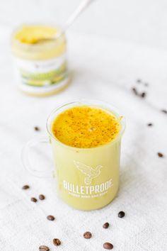 Turmeric Vanilla Bulletproof Coffee