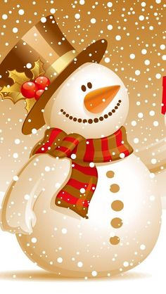 iPhone wallpaper merry christmas snowman http://htctokok-infinity.hu