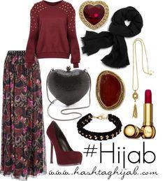 Hijab Fashion 2016/2017: Hashtag Hijab Outfit X follow me X