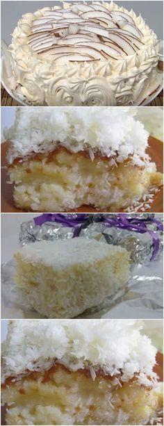 VAMOS APRENDER A ESSE BOLO QUE UM AMIGO CONFEITEIRO ME ENSINOU?FICA DOS DEUSES! VEJA AQUI>>>bata os ovos, o leite, a margarina, o açúcar e o coco no liquidificador coloque o trigo em uma tigela e despeje a mistura do liquidificador #receita#bolo#torta#doce#sobremesa#aniversario#pudim#mousse#pave#Cheesecake#chocolate#confeitaria