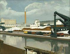 American Landscape, Charles Sheeler [1930]