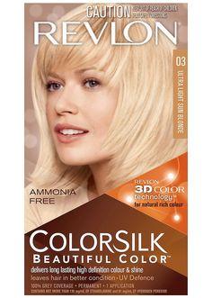 Best Hair Dyes For Gray Hair—Revlon ColorSilk Hair Color