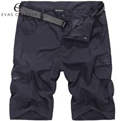 Mens Military Cargo Shorts 2017 Brand New Army Camouflage Shorts Men Cotton Quick-drying Casual Short Pants