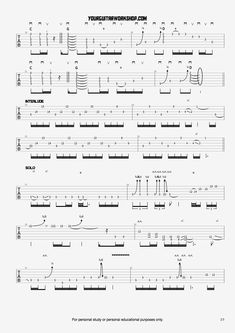 Free guitar tablature for the song Wanted Dead Or Alive from the album slippery when wet by Bon Jovi. Guitar Chord Chart, Guitar Tabs, Guitar Chords, Learn Guitar Beginner, Guitar For Beginners, Guitar Solo, Soloing, Guitar Lessons, Sheet Music
