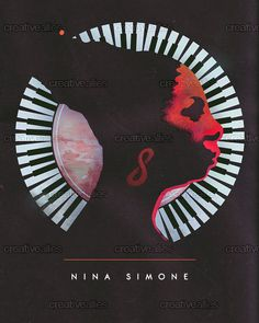 Nina Simone Poster by JonnyEgon on CreativeAllies.com