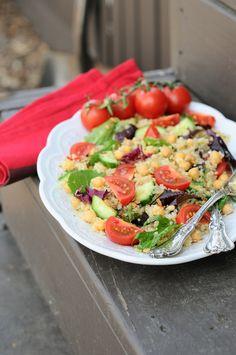 Shine Salad! {High Protein, Fiber, Antioxidants, Vegan, Gluten-Free, Delicious}
