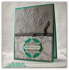 Be Creative with Nicole: Festive Flurry for Try Stampin #141