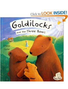 Goldilocks and the Three Bears Flip-Up Fairy Tales: Amazon.co.uk: Estelle Corke: Books