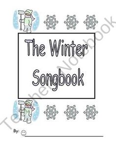 On Sale Now!The Winter Songbook Emergent Reader keyword-do product from Can-You-Read-It on TeachersNotebook.com