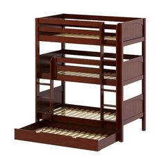 20 best triple bed images on pinterest bunk beds bunk bed with trundle and twin bunk beds. Black Bedroom Furniture Sets. Home Design Ideas