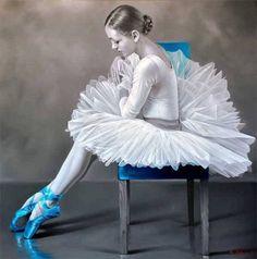 Painting by Chung Shek ~ Figurative painter Ballerina Art, Ballet Art, Ballet Dancers, Ballerinas, Ballet Images, Ballet Photos, Splash Photography, Ballet Photography, Color Splash