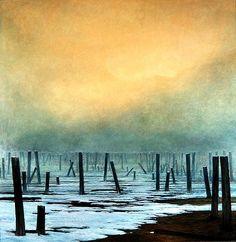 Beksinski, Zdzislaw (1929-2005) - 1981 Untitled Landscape by RasMarley, via Flickr