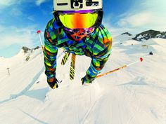 GoPro Skier captures an epic selfie #soaring // Your source for GoPro, Drone & Smartphone Camera & Tech Gear // www.GoWorx.com