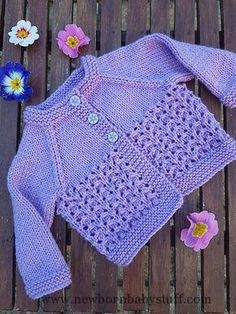 FREE - KNIT - Free knitting and crochet patterns. I am a popular independent des... Baby Knitting Patterns