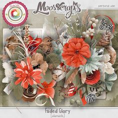 Faded Glory - elements by Moosscrap's Designs