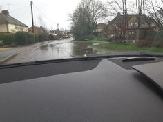 Flood Hitches Lane/Pilcot Road Crookham Village 3 January 2016