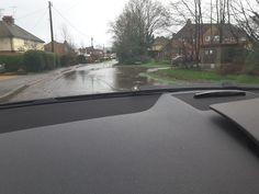 Flood Hitches Lane/Pilcot Road Crookham Village 3 January 2016