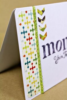 Craft-e-Corner Blog * Celebrate Your Creativity: Crafting Tip & Trick: Adding Arrows + Mother's Day Card Tutorial.