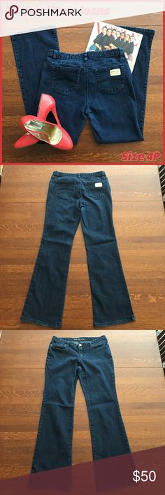 """🐣🦐 Michael Kors Petite Jeans These classically styled Michael Kors jeans are in EUC and will quickly become your go-to pair.  Measurements:  •Waist, laying flat across front: 15"""" •Inseam: 29 1/4"""" •Rise: 7 3/4""""  From a smoke-free and happy-to-bundle closet.   No trades or transactions outside of Poshmark. [T2277] Michael Kors Jeans"""