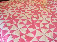 Solid winding ways vintage quilt