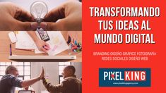 Digital world - Give power to your ideas with the digital solutions that Pixel King Agency offers you! Branding, Marketing, Thursday Jueves, Presentation, About Me Blog, King, Photo And Video, Digital, World