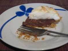 Mexican Chocolate Cream Pie. i love abuelita chocolate