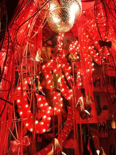 When our windows celebrated 20 years of Christian Louboutin