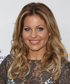Candace Cameron Bure Hairstyle - Long Wavy Casual - Dark Blonde