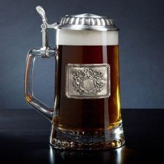 Royal Crest Personalized Beer Stein
