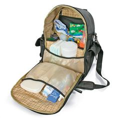 Messenger Backpack Diaper Bag - the kind of back that doesn't scream DIAPER BAG!