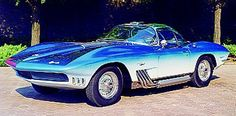 mako shark corvette stingray for sale | Chevrolet Corvette Mako Shark 1965, historia
