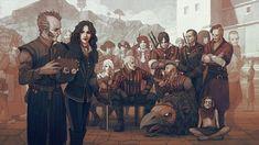 CD Projekt RED celebrate third anniversary for The Witcher 3 The Witcher Wild Hunt, The Witcher Game, The Witcher Geralt, Witcher Art, League Of Legends, The Witcher Books, Yennefer Of Vengerberg, Third Anniversary, Game Art