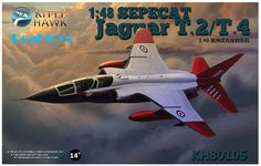 Kitty hawk KH80105 1/48 SEPECAT Jaguar T.2/T.4 plastic model kit