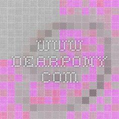 www.dearpony.com awesome eco clothes